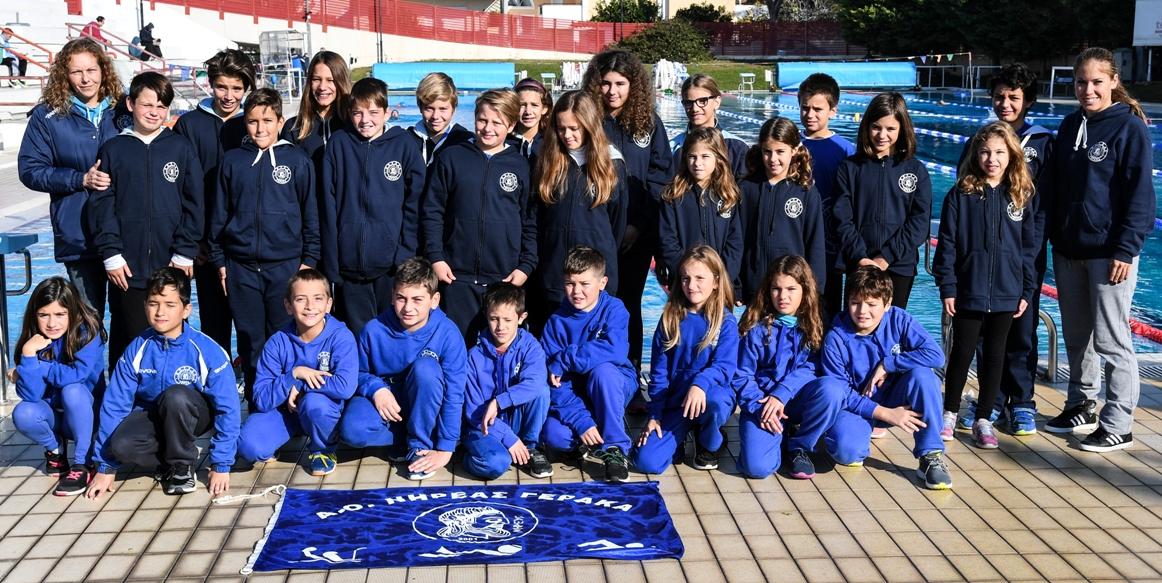 Προαγωνιστική ομάδα κολύμβησης